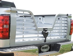 Husky Liners Premium 5th Wheel Louvered Tailgate w/ Locking Handle, Camera Relocation Kit - Aluminum