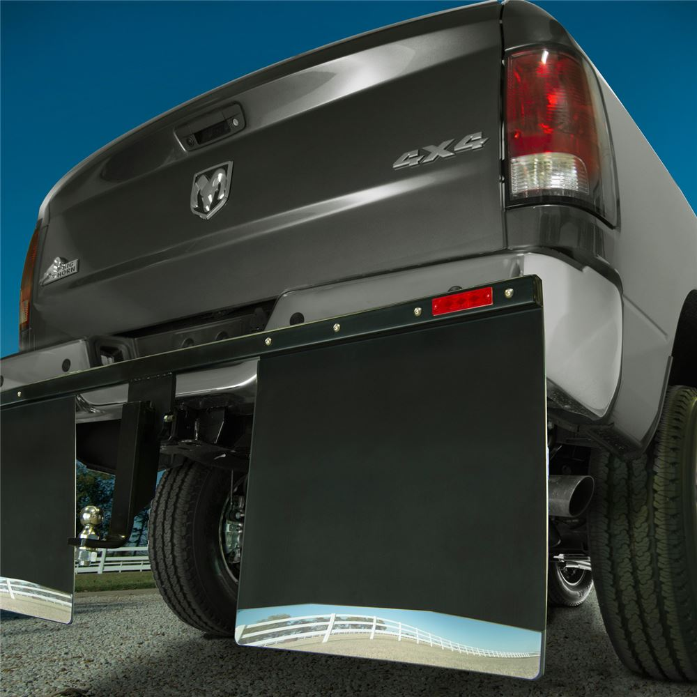 """Husky Liners Removable Mud Flaps For 2"""" Hitches"""
