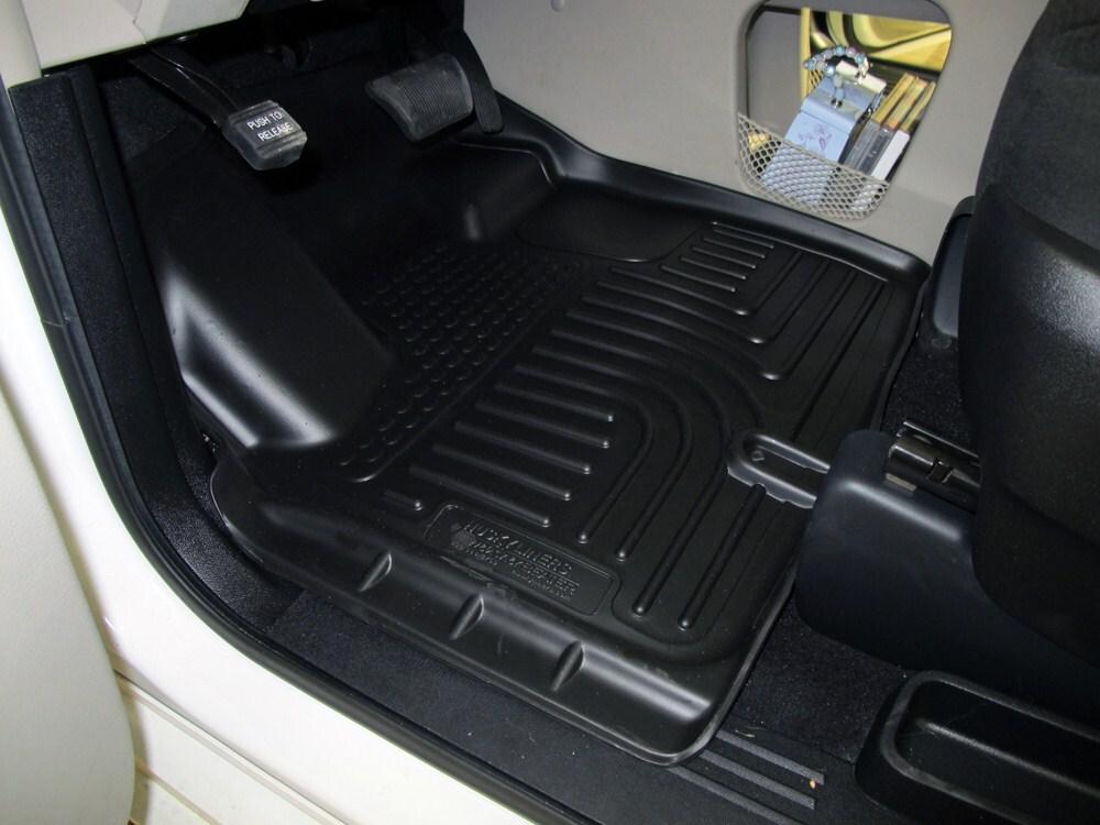 2012 Dodge Grand Caravan Floor Mats Husky Liners