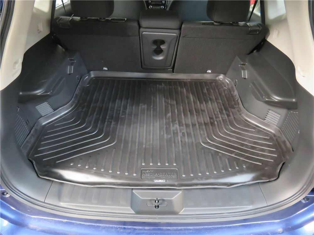 2017 nissan rogue husky liners weatherbeater custom cargo liner black. Black Bedroom Furniture Sets. Home Design Ideas