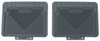Husky Liners Auto Floor Mats - Rear - Gray