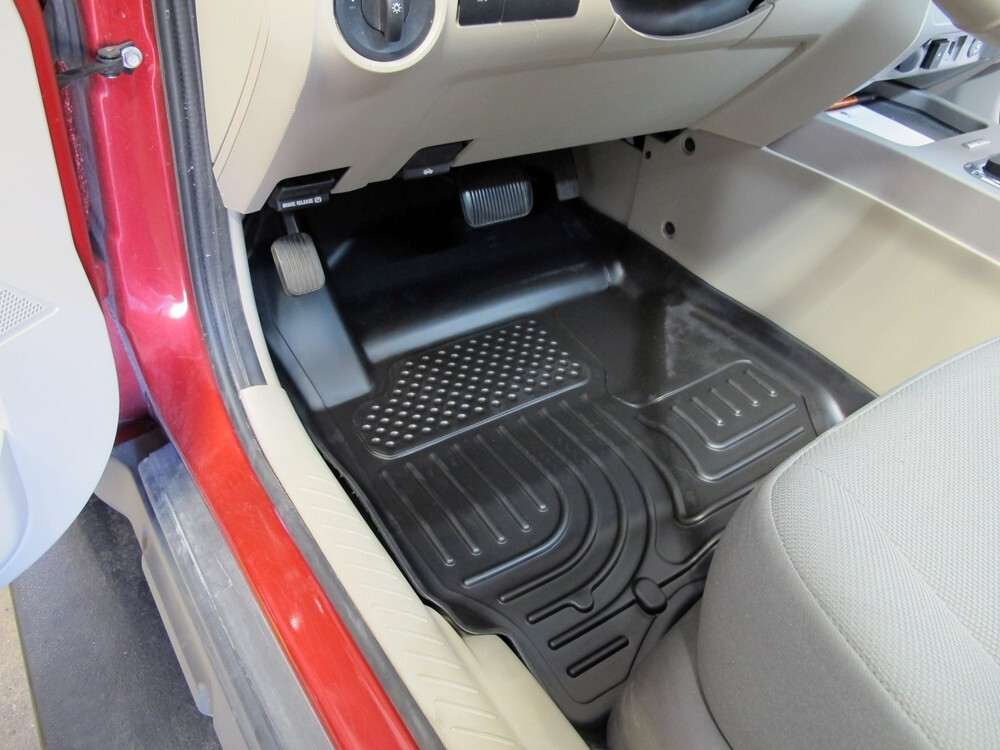 2009 ford escape floor mats husky liners. Black Bedroom Furniture Sets. Home Design Ideas