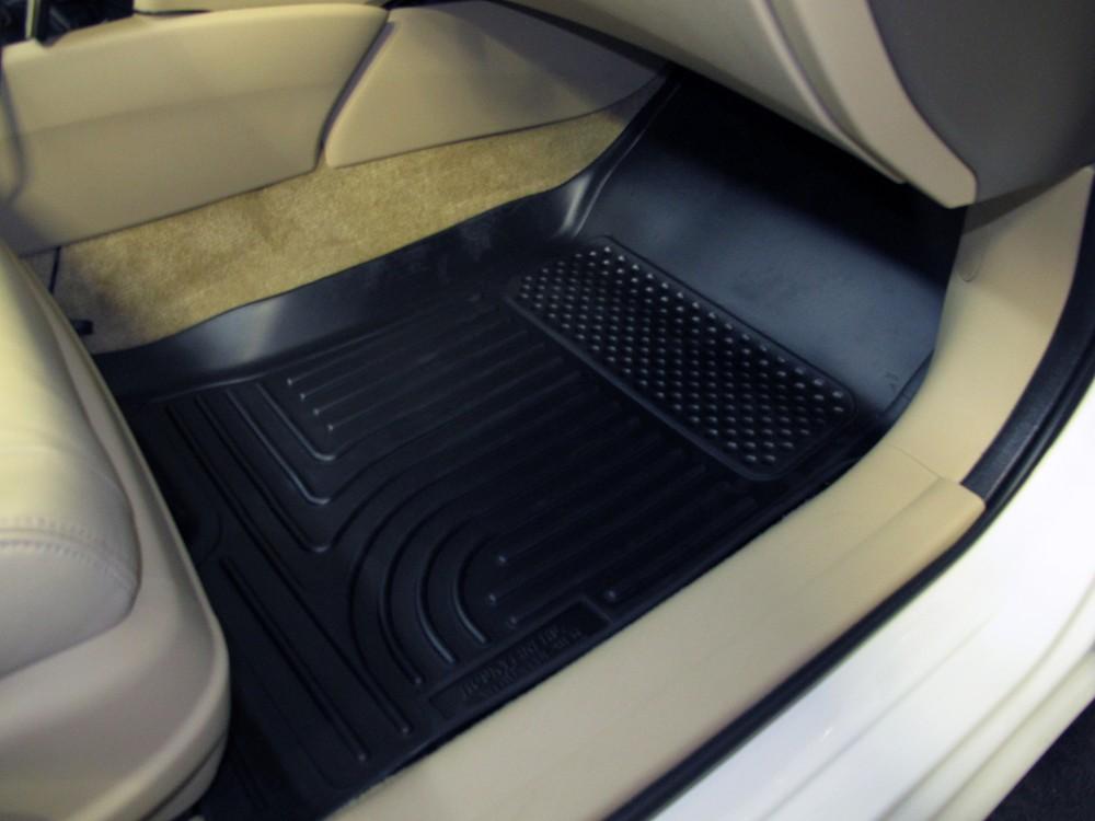 Husky liners weatherbeater custom auto floor liners for 1992 honda accord floor mats