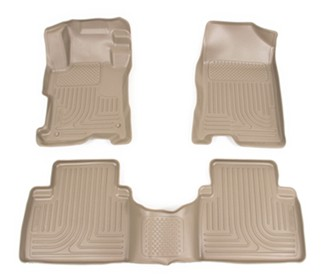 2010 honda accord floor mats husky liners. Black Bedroom Furniture Sets. Home Design Ideas