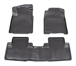 husky liners custom auto floor liners front and rear black