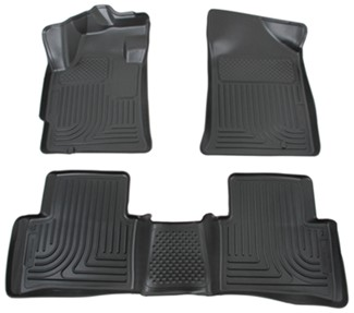 2009 nissan altima floor mats husky liners. Black Bedroom Furniture Sets. Home Design Ideas
