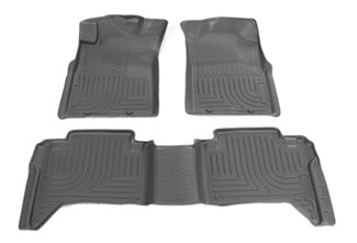 2013 toyota tacoma floor mats husky liners. Black Bedroom Furniture Sets. Home Design Ideas