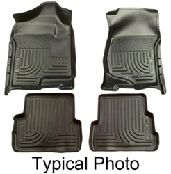husky weatherbeater front and rear floor liners review. Black Bedroom Furniture Sets. Home Design Ideas