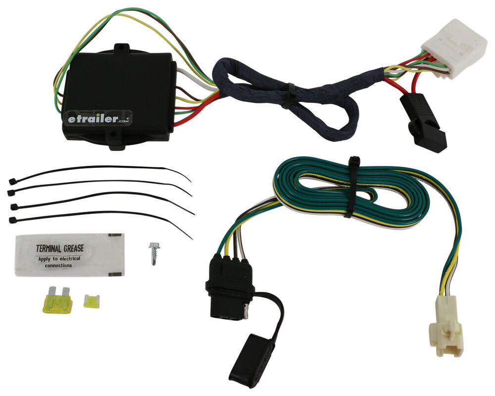 Toyota Camry Trailer Wiring Harness : How to install a trailer wiring harness on toyota camry