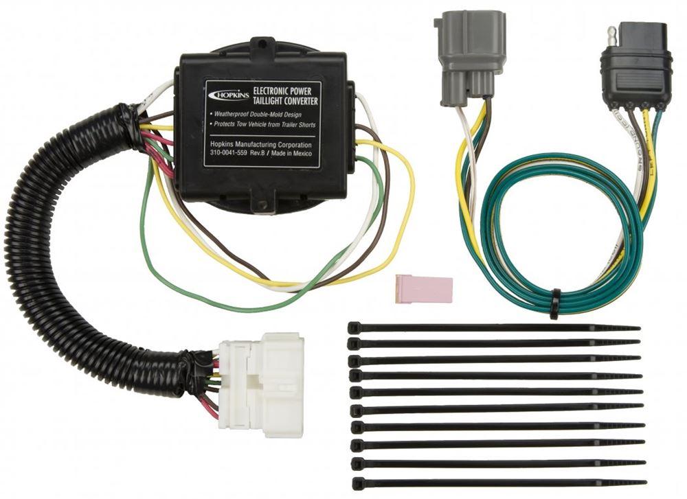 Honda pilot custom fit vehicle wiring hopkins