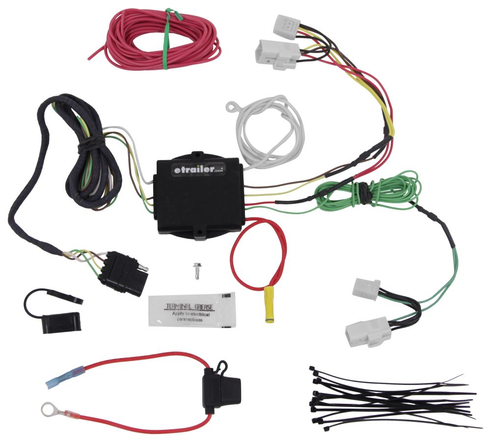 Trailer Wiring Harness Rav4 : Toyota rav custom fit vehicle wiring hopkins