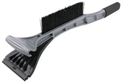 Hopkins Duo Grip Ice Scraper with Snow Brush - Two-Handle Design