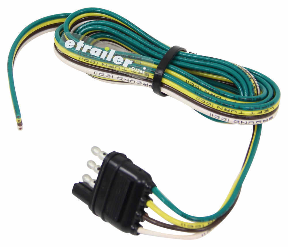 Trailer Plug Wiring Harness Diagrams Hopkins Endurance 4way Flat Connector End With 4 Pole