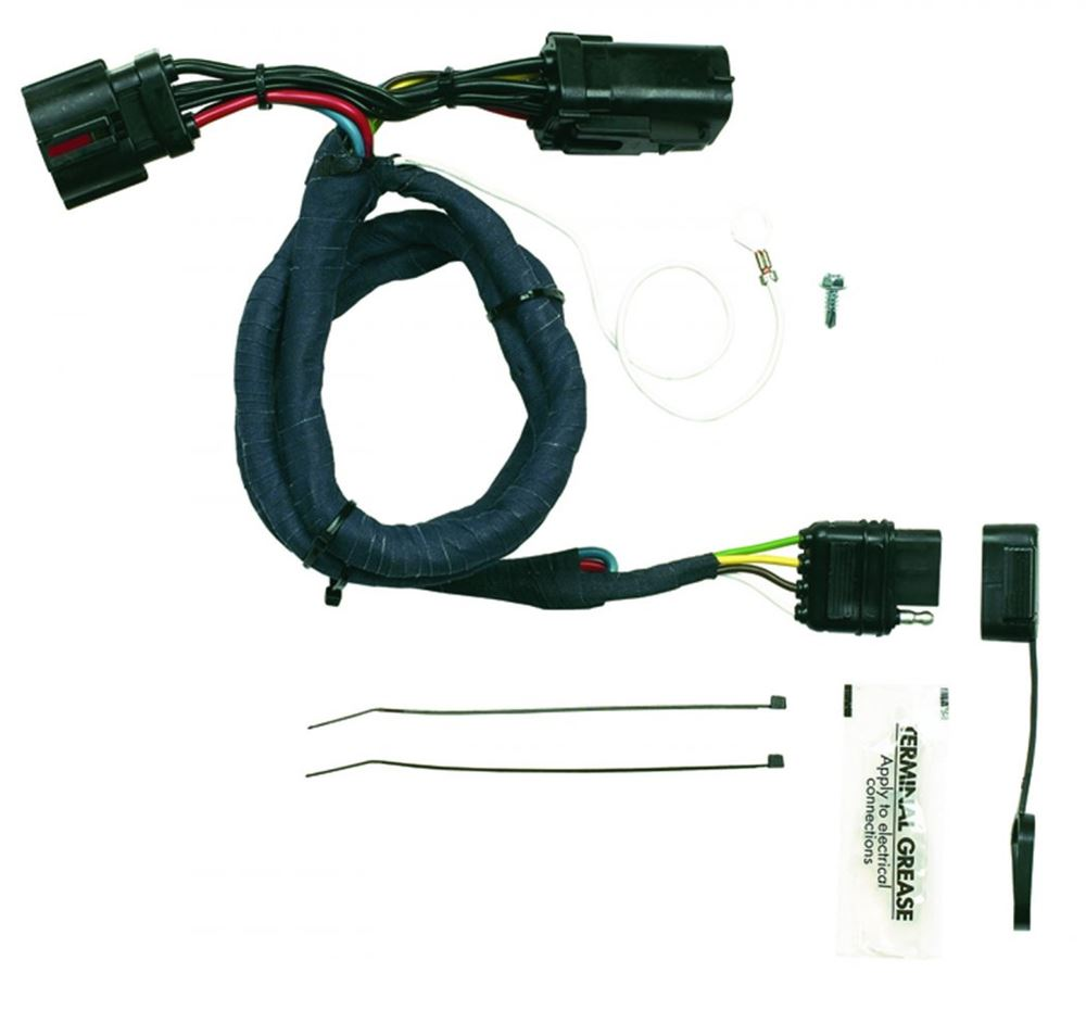 hopkins plug in simple vehicle wiring harness with 4 pole. Black Bedroom Furniture Sets. Home Design Ideas