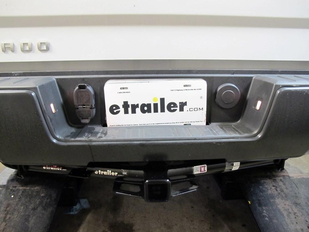 pollak 7 and 4 pole trailer connector socket w  mounting bracket vehicle end hopkins custom