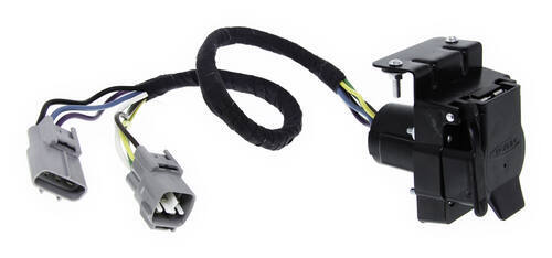 HM43385_500 hopkins plug in simple vehicle wiring harness for factory tow Toyota Tacoma Trailer Hitch Wiring at n-0.co