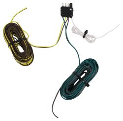 Hopkins Endurance 4-Way Flat Trailer Wiring Harness - 30' Long