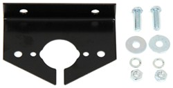 Hopkins Mounting Bracket for 4-Way, 5-Way, or 6-Way Round Trailer Connectors