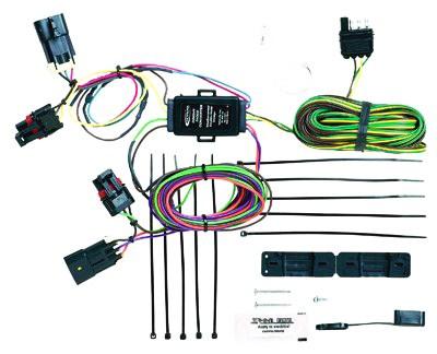 hopkins custom tail light wiring kit for towed vehicles. Black Bedroom Furniture Sets. Home Design Ideas