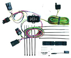 tail light wiring kit installation chevrolet hhr video hopkins custom tail light wiring kit for towed vehicles