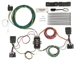 do both large connectors of hopkins flat towing harness hm56104 need rh etrailer com  2002 chevy avalanche tail light wiring harness