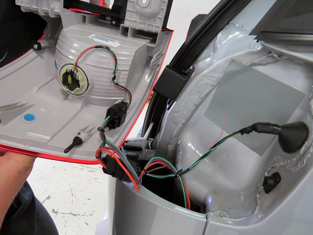 2016 Gmc Terrain Hopkins Custom Tail Light Wiring Kit For
