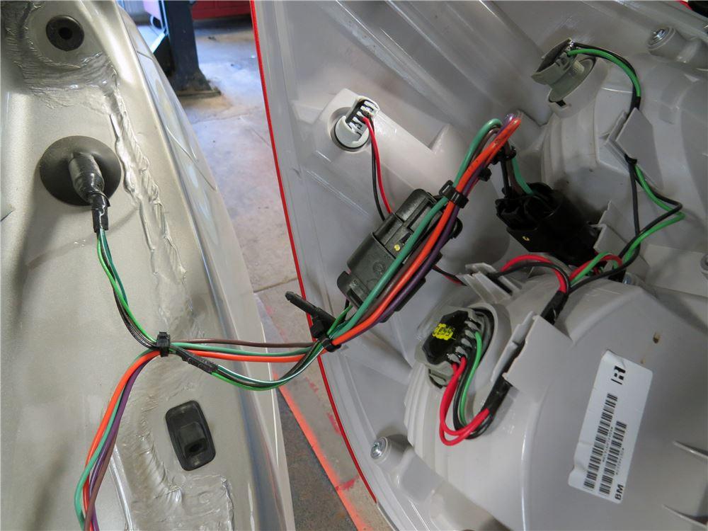 Trailer Wiring Harness 2012 Equinox : Chevrolet equinox hopkins custom tail light wiring