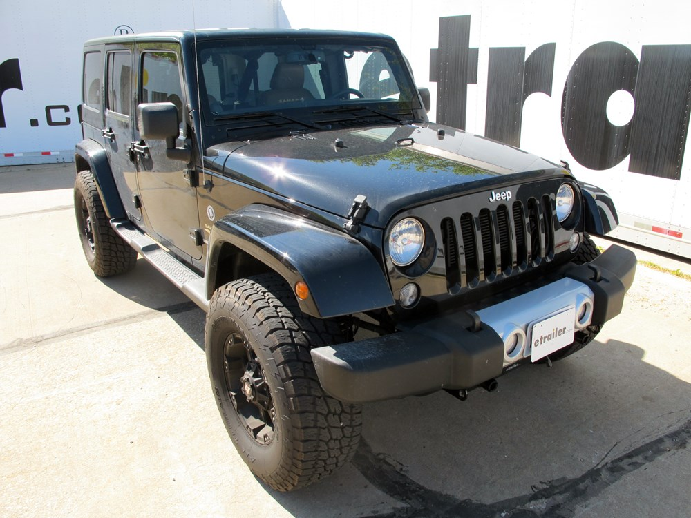 2014 jeep wrangler unlimited tow bar wiring - hopkins jeep tow bar wiring