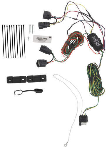 hopkins custom tail light wiring kit for towed vehicles hopkins hopkins 56009 at Tow Vehicle Wiring Harness