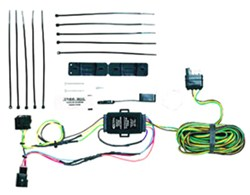 jeep kc lights wiring 2005 jeep wrangler vehicle tow bar wiring | etrailer.com jeep tow lights wiring