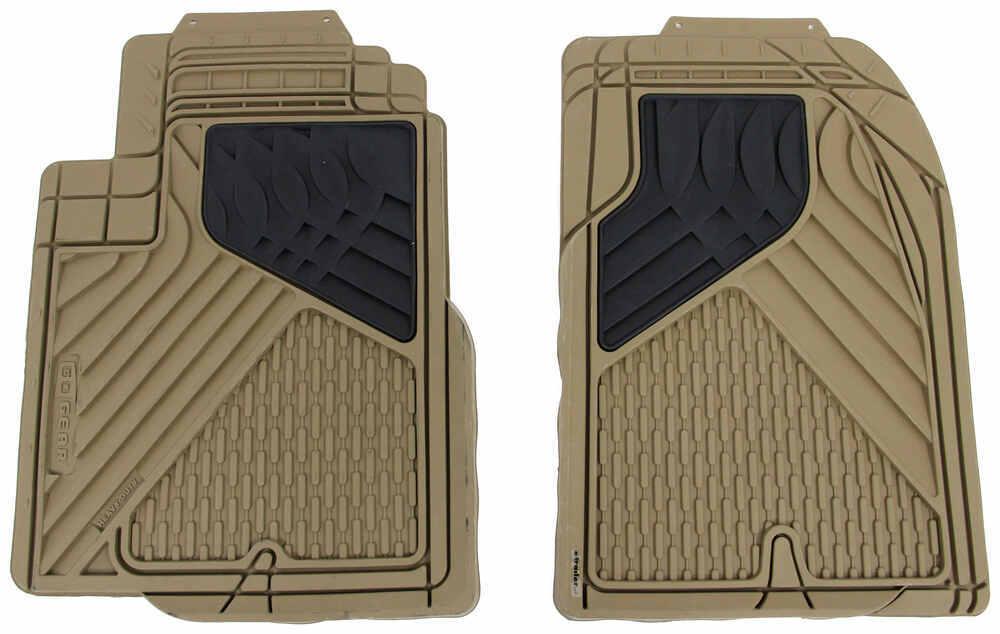 2016 dodge journey hopkins semi custom auto floor mats pvc front beige. Black Bedroom Furniture Sets. Home Design Ideas