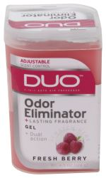 DUO Gel Air Freshener and Odor Eliminator - Fresh Berry