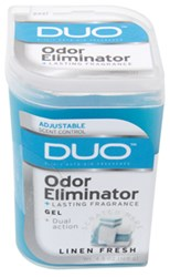 DUO Gel Air Freshener and Odor Eliminator - Linen Fresh