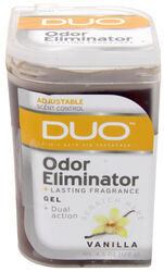 DUO Gel Air Freshener and Odor Eliminator - Vanilla