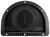 redline enclosed trailer parts vents 2-piece polypropylene vent for 3 inch diameter hole - black