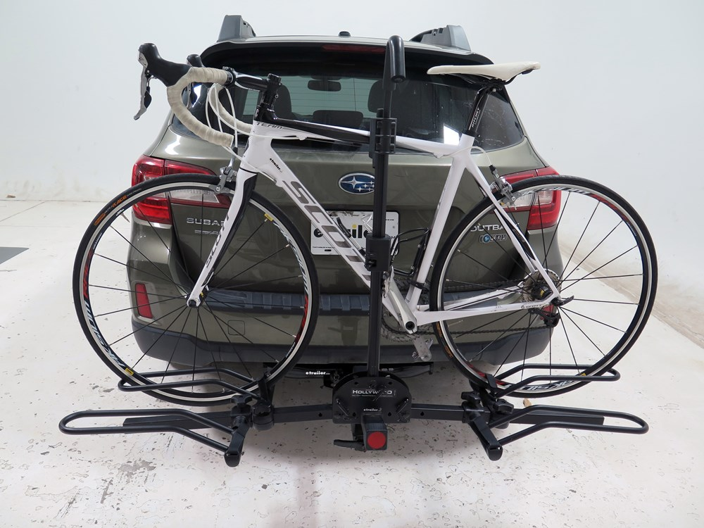 subaru outback wagon hollywood racks sport rider se  bike platform rack  hitches