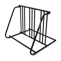 Hollywood Racks Bike Valet Bicycle Parking Stand - Double Sided - 6 Bikes