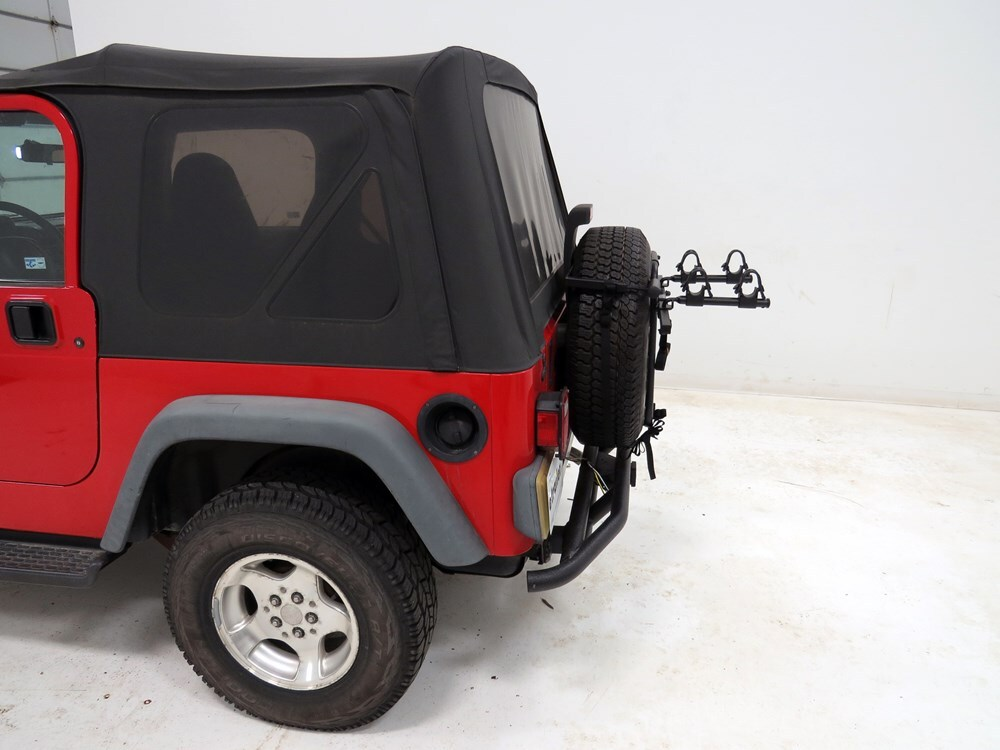 Jeep Wrangler Hollywood Racks Sr1 2 Bike Carrier Spare