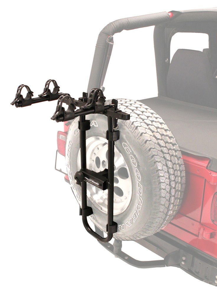 Hollywood Racks Sr2 2 Bike Carrier Spare Tire Mount