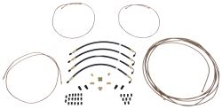 "HydraStar Hydraulic Brake Line Kit - Tandem Axle - 30' Long, 1/4"" Main Line"