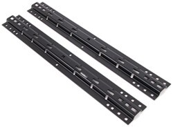 Husky Universal Base Rails for 5th Wheel Trailer Hitches - 4 Bolt or 10 Bolt