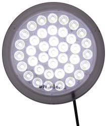 LED Interior Trailer Dome Light - 39 Diode - White Housing