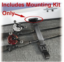 Boat Buckle 14202 Rodbuckle Fishing Rod Concealed Boat Mounting Kit
