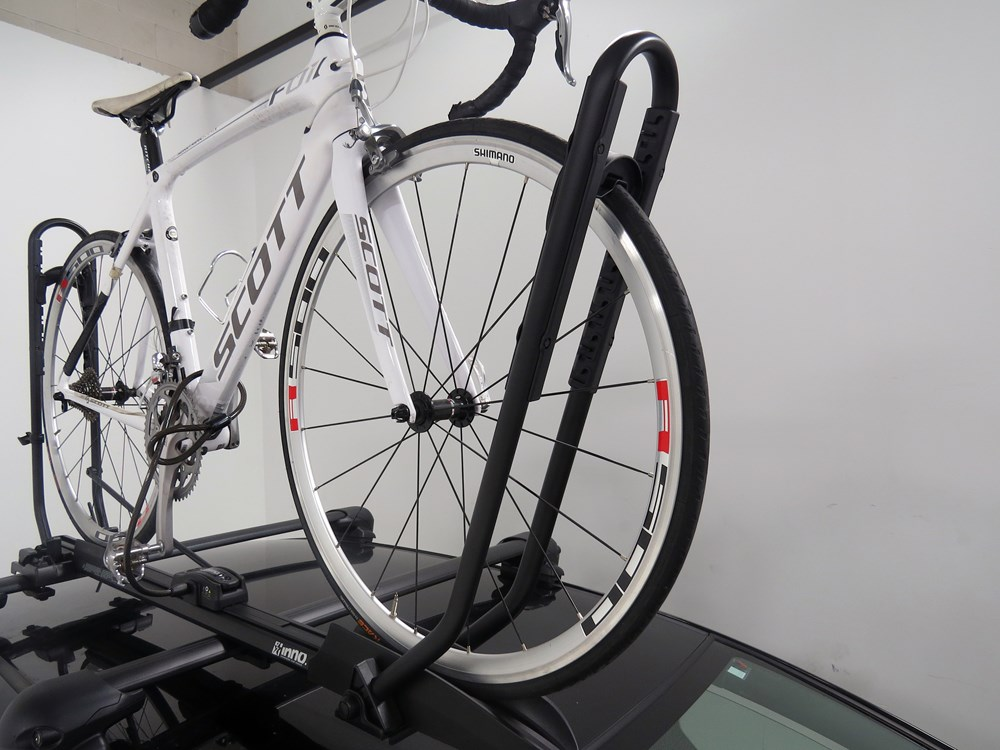 Inno Tire Hold Ii Roof Bike Rack Wheel Mount Clamp On