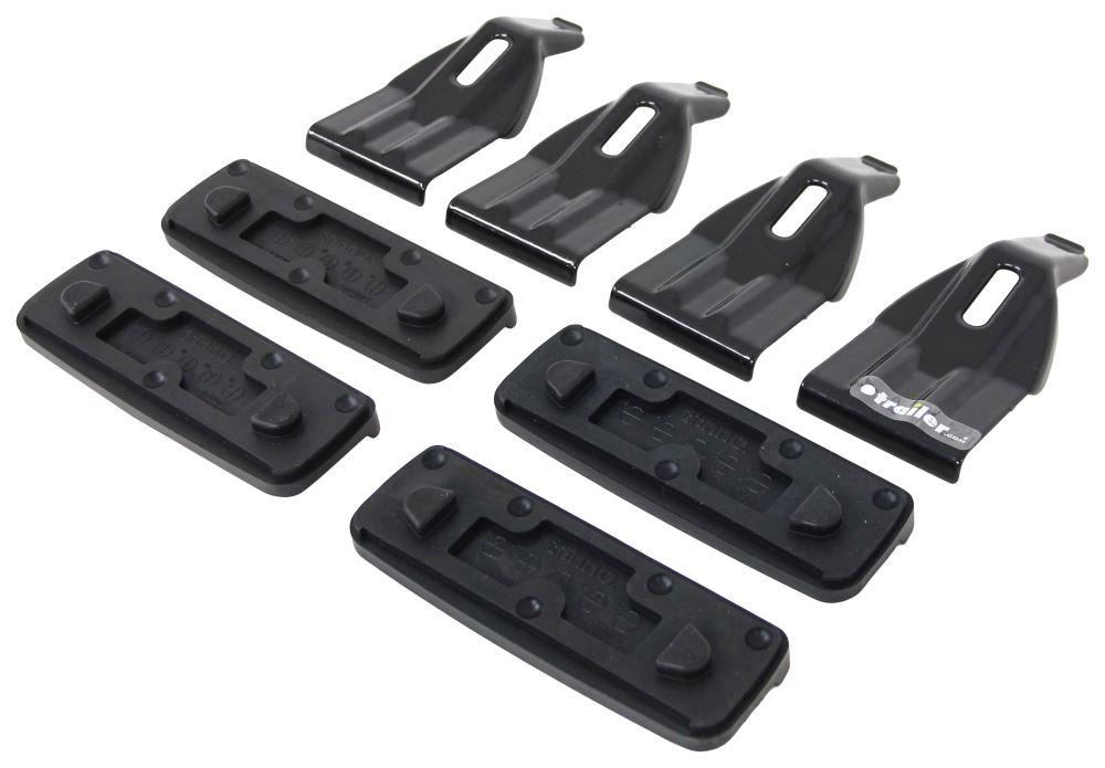 custom fit kit for inno xs200 xs250 and insu k5 roof rack feet inno roof rack ink851. Black Bedroom Furniture Sets. Home Design Ideas