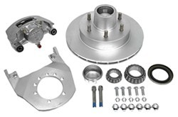"Kodiak Disc Brake Assembly - 12"" Hub/Rotor - 6 on 5-1/2 - Dacromet and Stainless - 5.2K to 6K"