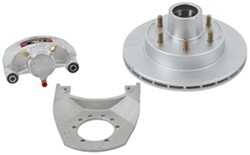 "Kodiak Disc Brake Assembly - 12"" Hub/Rotor - 6 on 5-1/2 - Dacromet - 5,200 lbs to 6,000 lbs"