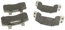 Kodiak Ceramic Brake Pads w/Stainless Steel Backing Plate - 3,500 lbs to 6,000 lbs