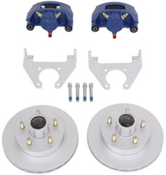 "Kodiak Disc Brake Kit - 10"" Hub/Rotor - 5 on 4-1/2 - Dacromet and KodaGuard - 3,500 lbs"