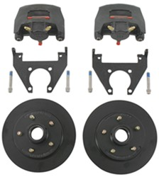 "Kodiak Disc Brake Kit - 10"" Hub/Rotor - 5 on 4-1/2 - E-Coat - 3,500 lbs"